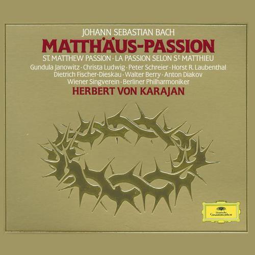 J.S. Bach: Matthäus-Passion, Herbert Von Karajan Berliner ...
