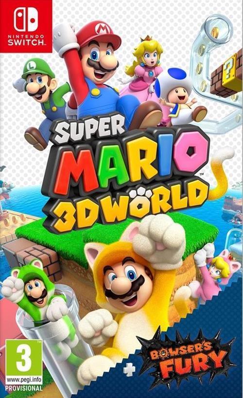 Super Mario 3D World Bowser apos s Fury