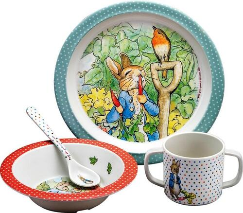 Peter Rabbit Ontbijtset 4-Delig