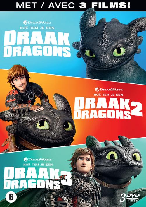Hoe Tem Je Een Draak 1 3 (How To Train Your Dragon 1 3)