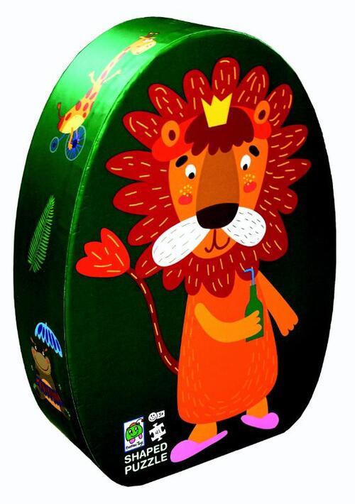 Afbeelding van Deco puzzel leeuw