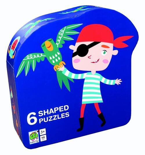 Afbeelding van Deco puzzel piraat