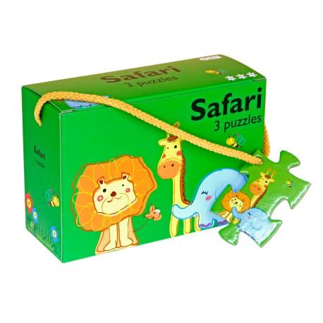 Afbeelding van Safari - 3 puzzels