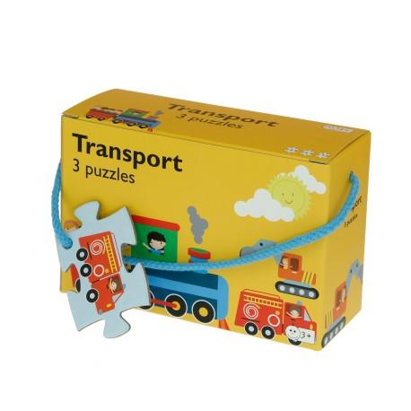 Afbeelding van Transport - 3 puzzels