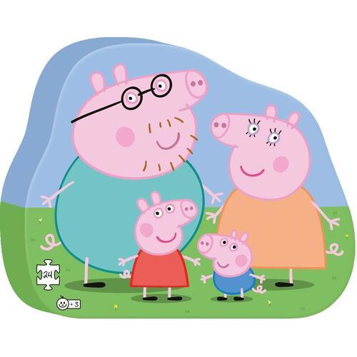 Afbeelding van Puzzel Peppa Pig Family