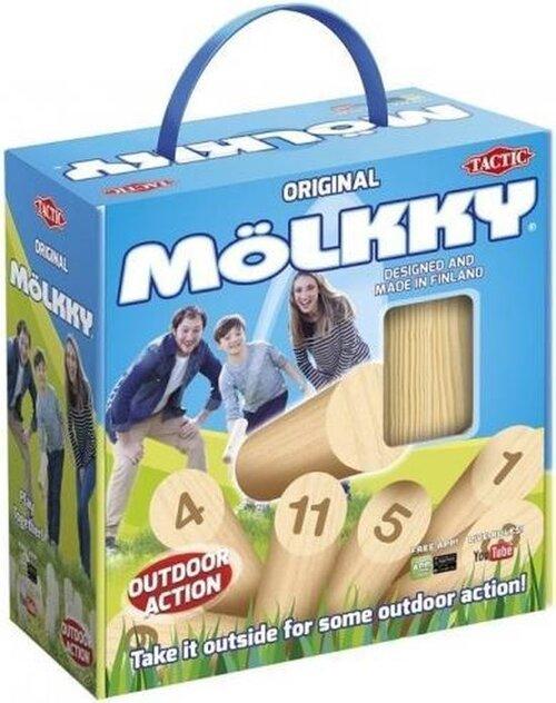 Tactic Spel - Mölkky In Cardboard Box With Handle - Speelgoed (6416739549033)
