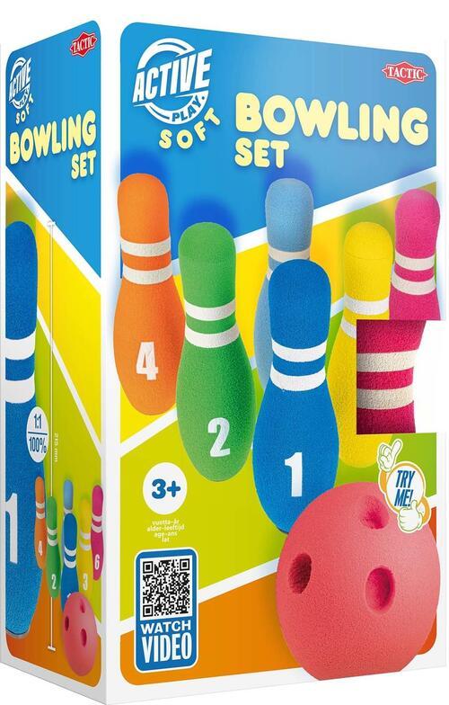 Tactic Spel - Foam Bowling Set - Speelgoed (6416739580333)