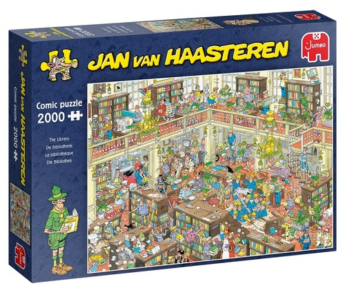 Jan Van Haasteren De Dibliotheek – 2000 Stukjes