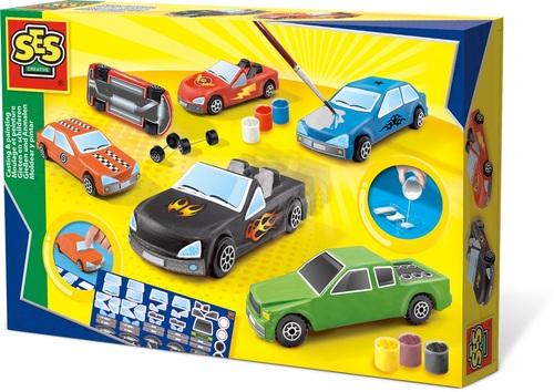 Gieten En Schilderen – Auto's – Speelgoed (8710341014018)