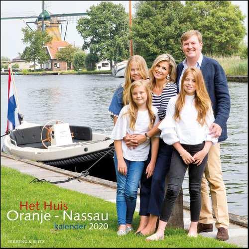 Afbeelding van Het Huis Oranje-Nassau maandkalender 2020
