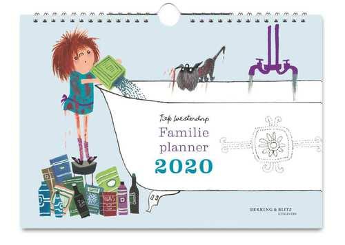 Afbeelding van Fiep familie planner 2020