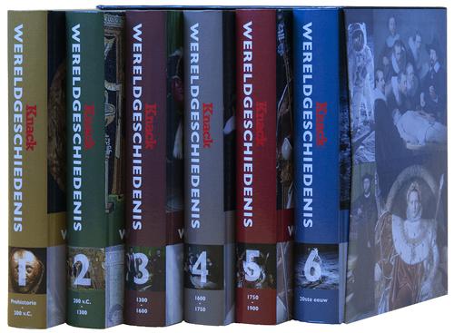 Wereldgeschiedenis: 6 boeken in luxebox