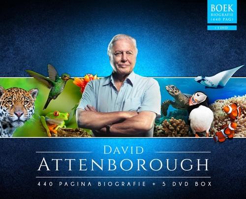 Dagaanbieding - David Attenborough Box (Boek + 5 Dvdenapos;s) dagelijkse koopjes