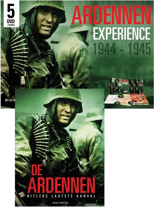 De Ardennen 1944-1945 Pakket (Boek + 5 Dvd's)