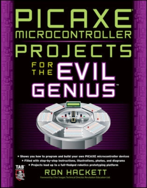 Afbeelding van Picaxe Microcontroller Projects for the Evil Genius