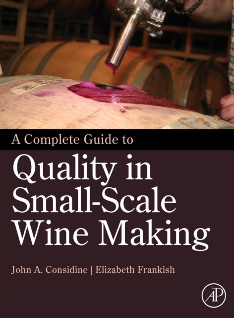 Afbeelding van Complete Guide to Quality in Small-Scale Wine Making