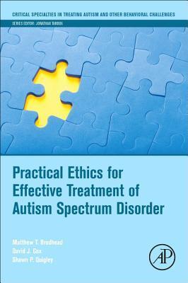 Afbeelding van Practical Ethics for Effective Treatment of Autism Spectrum