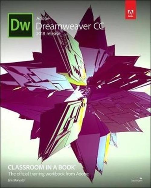 Afbeelding van Adobe Dreamweaver CC Classroom in a Book (2018 Release)