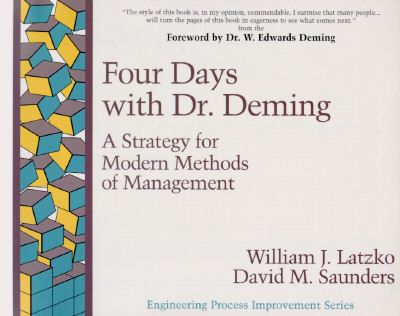 Afbeelding van Four Days with Dr Deming
