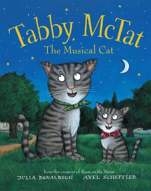 Afbeelding van Tabby McTat, the Musical Cat