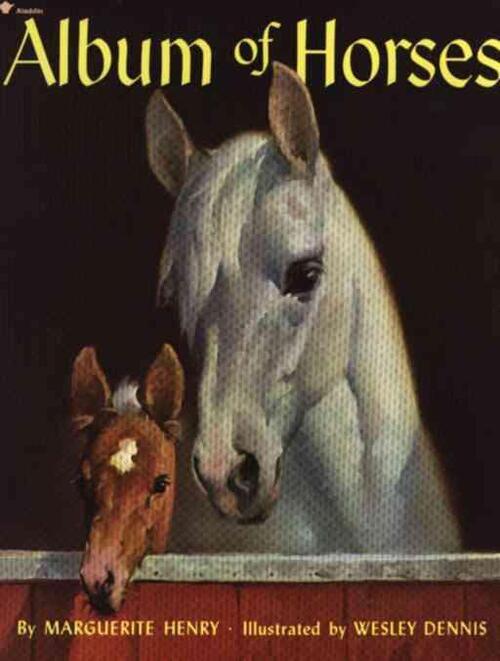 Afbeelding van Album of Horses
