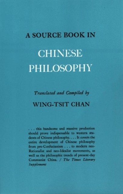 A Source Book in Chinese Philosophy - Chan Wing-Tsit