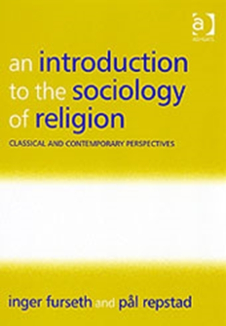 Afbeelding van An Introduction to the Sociology of Religion