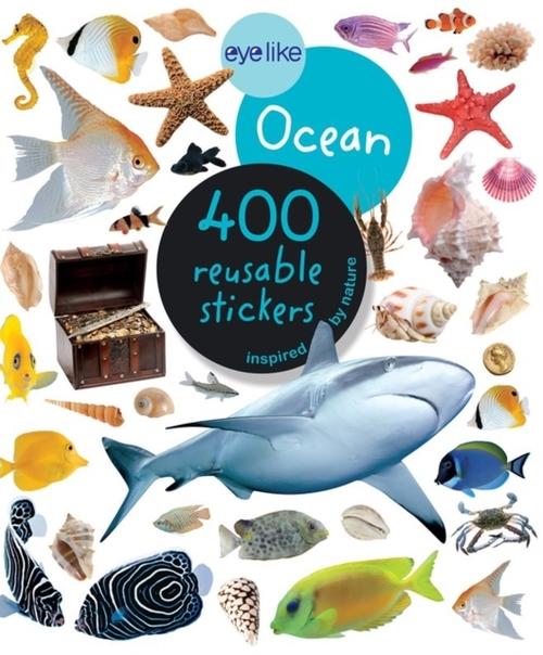 Afbeelding van Eyelike Ocean - 400 Reusable Stickers Inspired by Nature