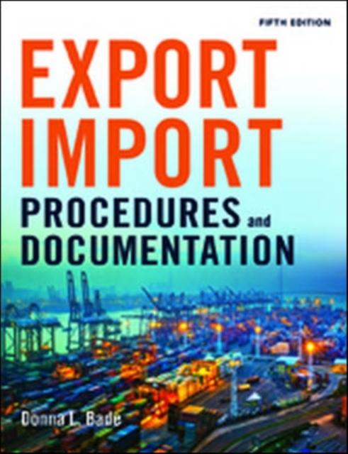 Afbeelding van Export/Import Procedures and Documentation