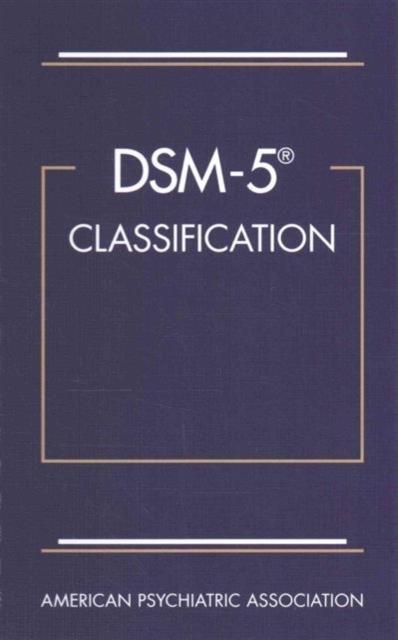 Afbeelding van DSM-5 Classification