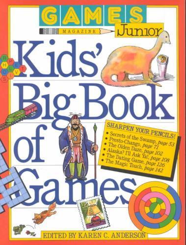 Afbeelding van Games Magazine Junior Kids' Big Book of Games