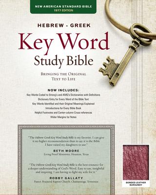Afbeelding van Hebrew-Greek Key Word Study Bible-NASB