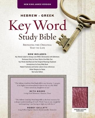 Afbeelding van Hebrew-Greek Key Word Study Bible