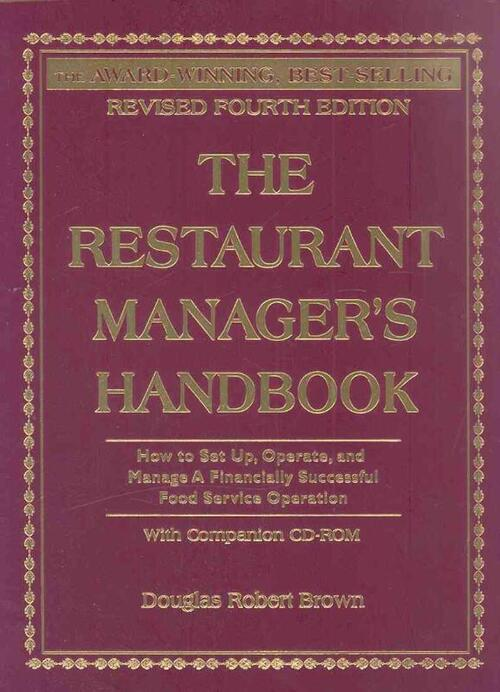 Afbeelding van The Restaurant Manager's Handbook