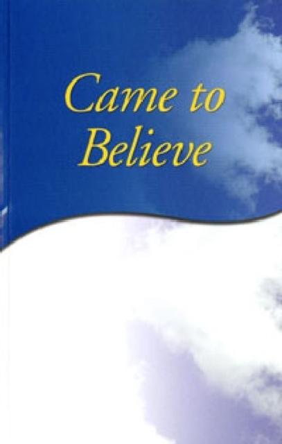 Afbeelding van Came to Believe Trade Edition