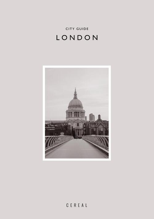 Afbeelding van Cereal City Guide: London
