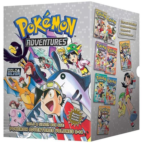 Pokemon Adventures, Gold & Silver: Box Set kopen