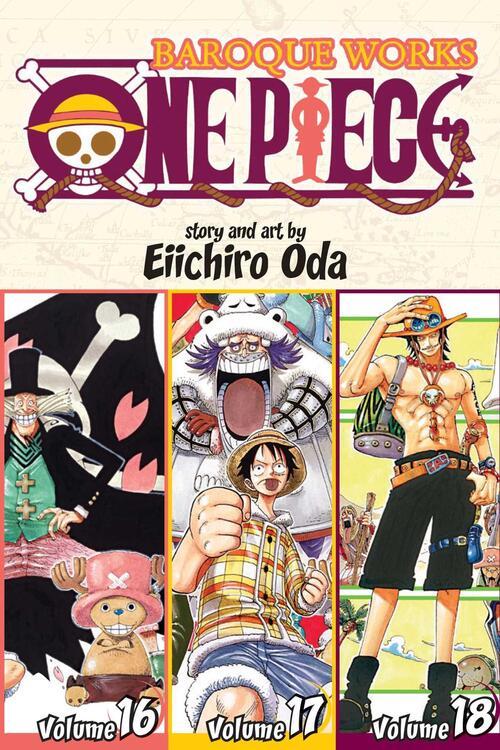 One Piece: Baroque Works 16-17-18, Vol. 6 (Omnibus Edition) kopen