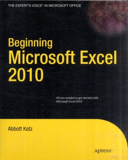 Afbeelding van Beginning Microsoft Excel 2010