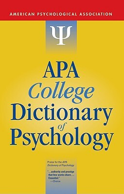 Afbeelding van APA College Dictionary of Psychology