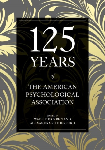 Afbeelding van 125 Years of the American Psychological Association