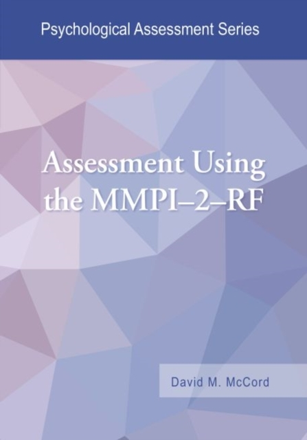 Afbeelding van Assessment Using the Mmpi-2-RF