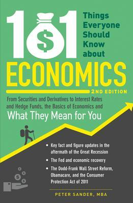Afbeelding van 101 Things Everyone Should Know about Economics