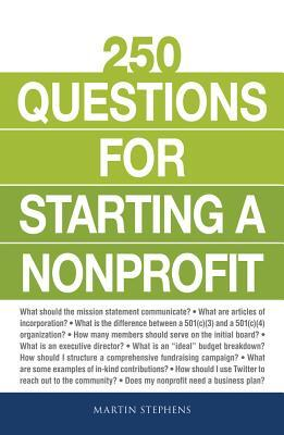 Afbeelding van 250 Questions for Starting a Nonprofit