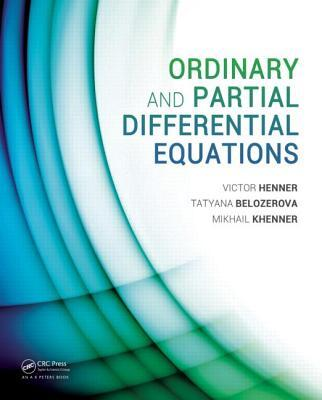 Afbeelding van Ordinary and Partial Differential Equations