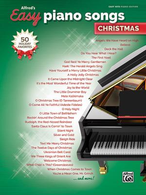 Afbeelding van Alfred's Easy Piano Songs -- Christmas