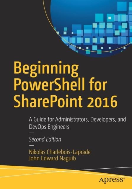 Afbeelding van Beginning PowerShell for SharePoint 2016