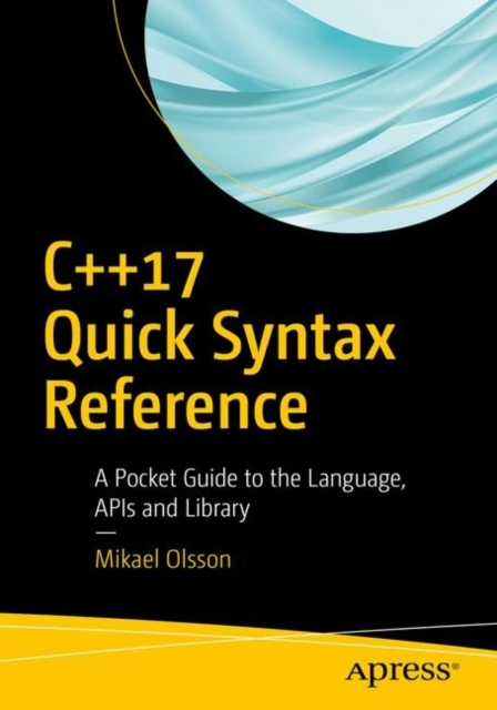 Afbeelding van C++17 Quick Syntax Reference