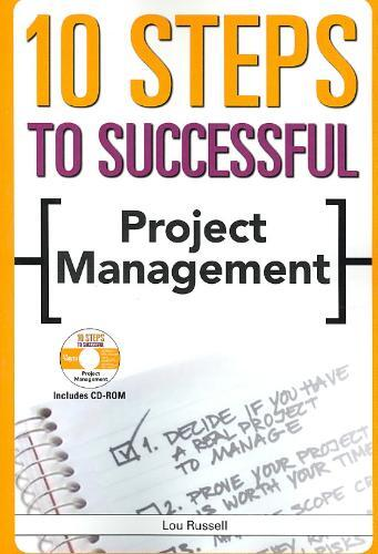 Afbeelding van 10 Steps to Successful Project Management [With CDROM]