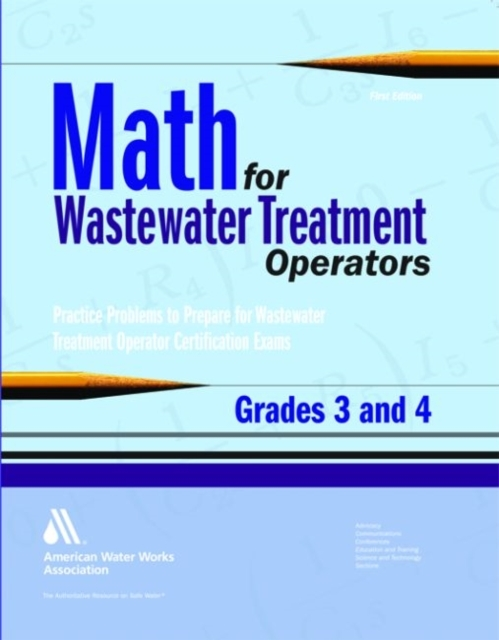 Afbeelding van Math for Wastewater Treatment Operators Grades 3 & 4